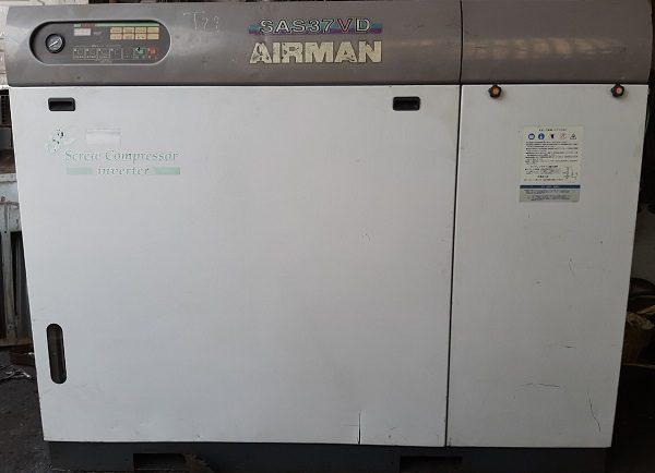 bán máy nén khí Airman 37 kw cũ hàng Nhật bản