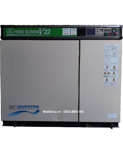 bán máy nén khí cũ không dầu, có hệ thống tách ẩm sấy khí inverter